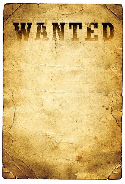 dziki zachód chciał plakat - uwiedzenie zdjęcia i obrazy z banku zdjęć