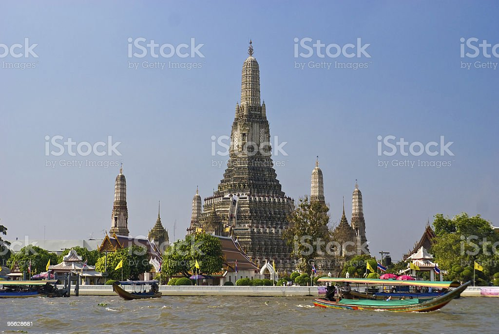 War Arun,  Bangkok, Thailandia. royalty-free stock photo