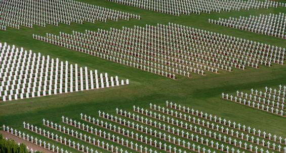 War cemetery Verdun