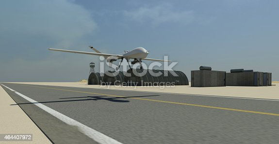 535194869 istock photo War drone take-off sequence 464407972
