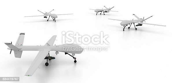 498918882 istock photo War drones isolated on white 534419767