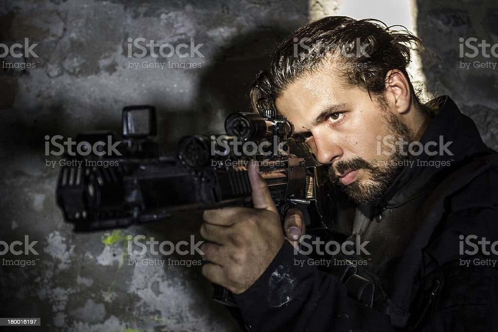 War Game royalty-free stock photo