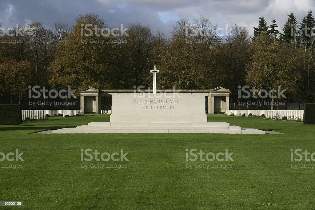 war grave place royalty-free stock photo