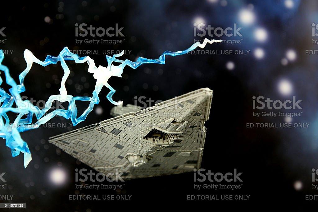 War in Deep Space stock photo