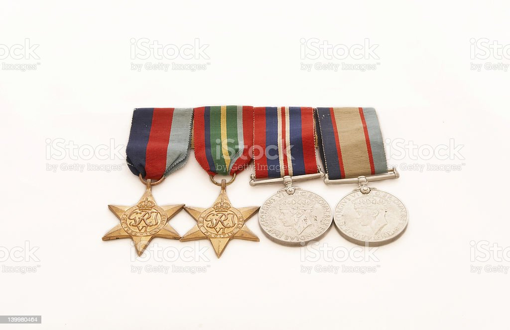 War Medals royalty-free stock photo