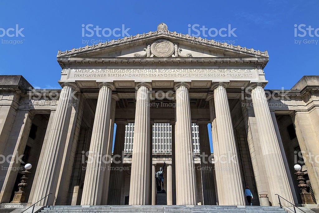 War Memorial Auditorium, Nashville, Tennessee stock photo