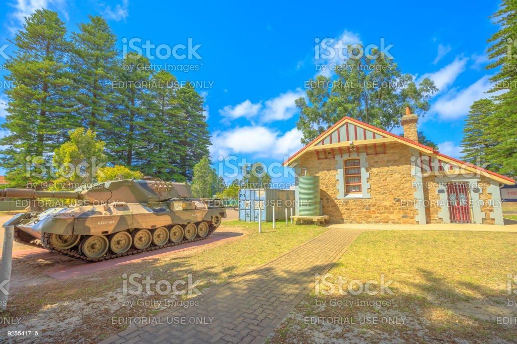 War Memorial Esperance WA stock photo