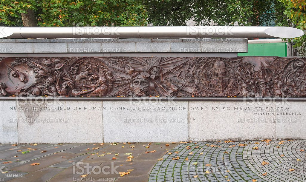 War Memorial in London stock photo