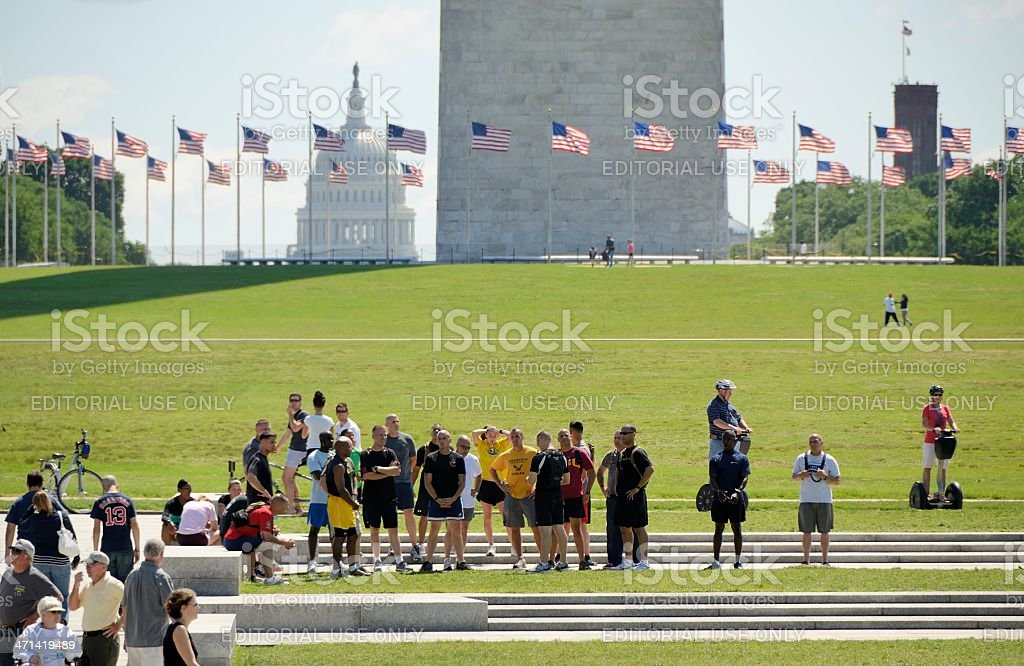 US War Memorial, Washington DC royalty-free stock photo