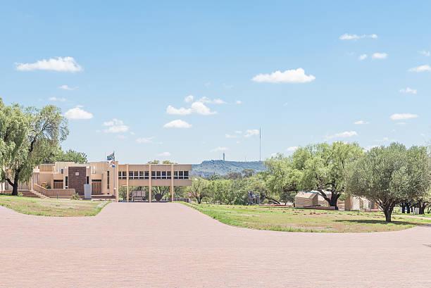 War Museum at the Womens Memorial in Bloemfontein stock photo