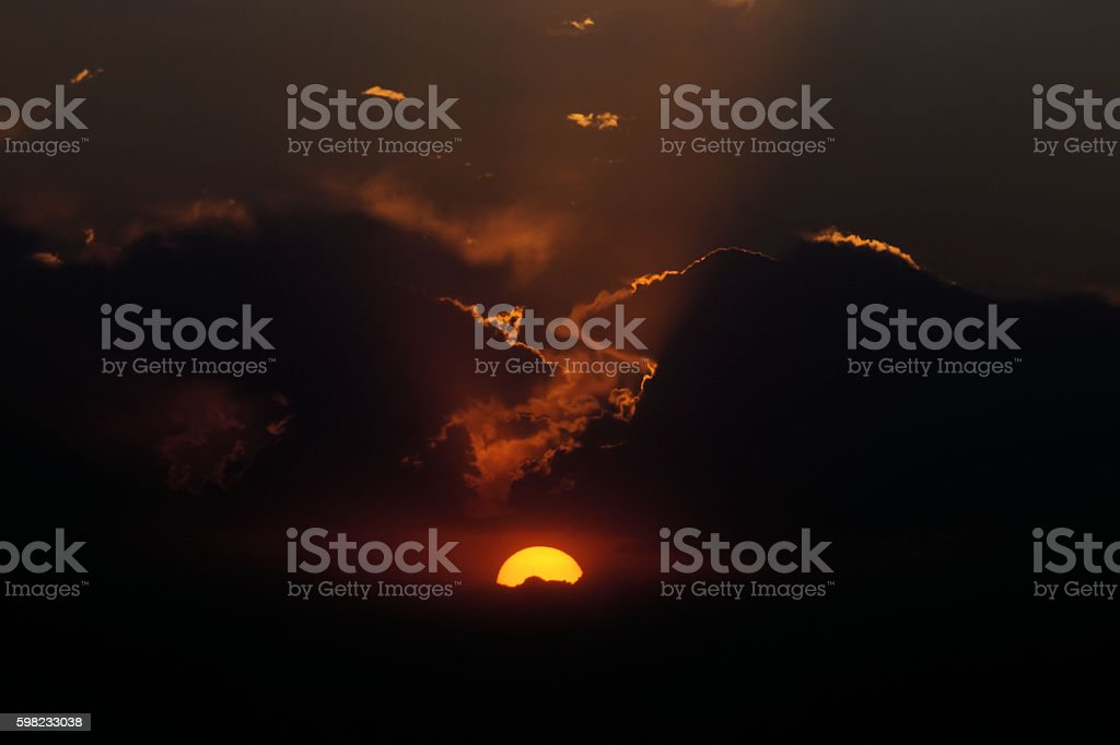 War of the Clouds foto royalty-free