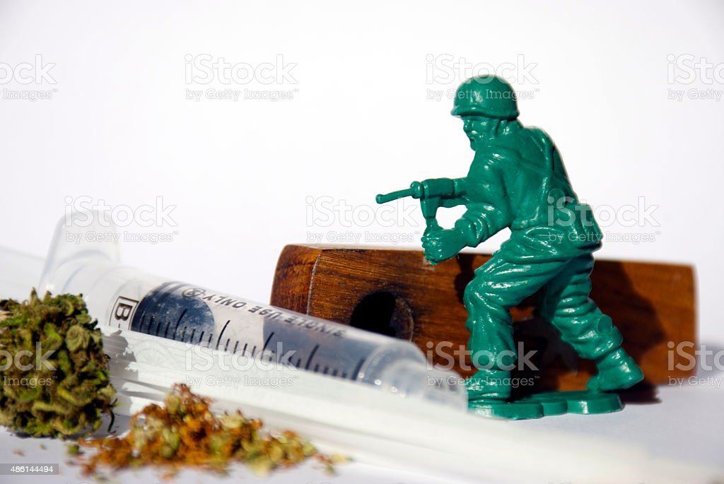 War on Drugs Concept Concept on 'The War on Drugs'. 2015 Stock Photo