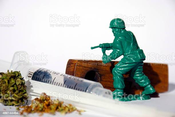 War On Drugs Concept Stock Photo - Download Image Now