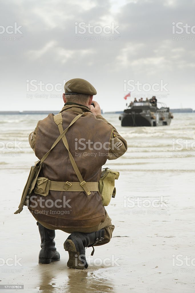 War photographer royalty-free stock photo