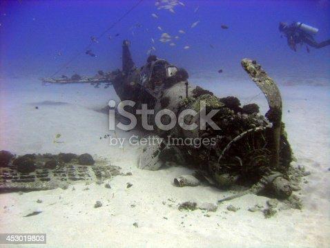 istock War plane of the Deep 453019803