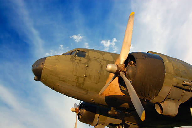 War plane used in II. World War  bomber plane stock pictures, royalty-free photos & images