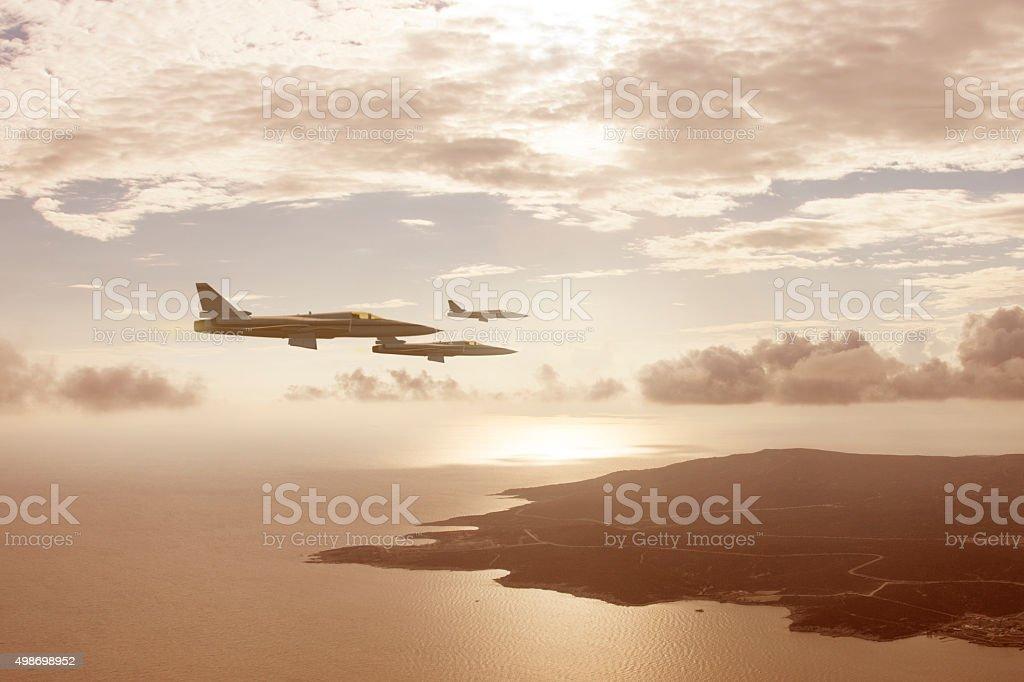 war planes stock photo