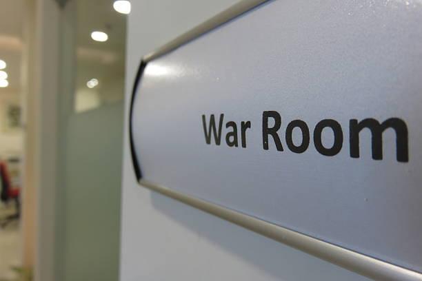 War Room stock photo