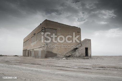 695022520 istock photo War Zone Syria, Abandoned, Building 1030995106