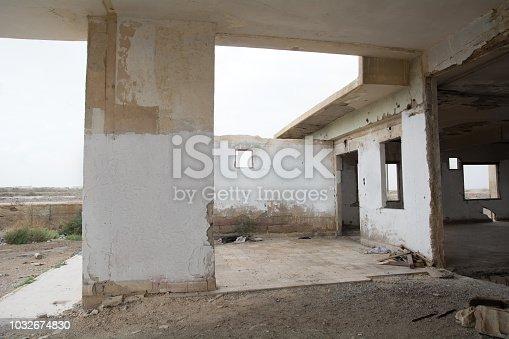 695022520 istock photo War Zone Syria, Abandoned, Building 1032674830
