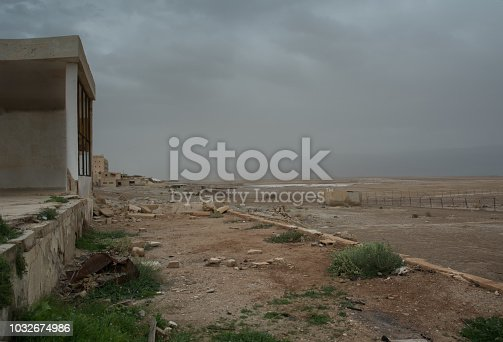 695022520 istock photo War Zone Syria, Abandoned, Building 1032674986