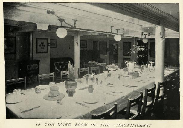Gemeindezimmer der HMS Magnificent – Foto