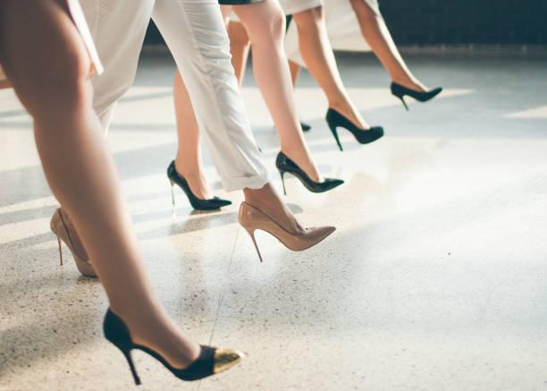 Garderobe der erfolgreiche Geschäftsfrau – Foto