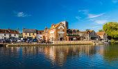 istock Wareham quay in the bright sunshine 826464416