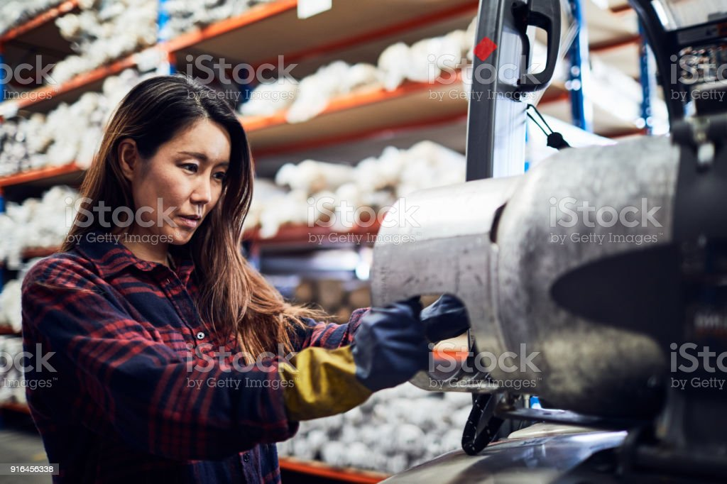 Warehouse and industry concept in Australia, working in small business. foto de stock royalty-free