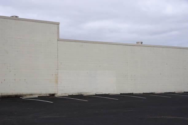 Warehouse Back Wall stock photo