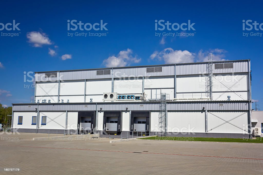 Warehouse building royalty-free stock photo