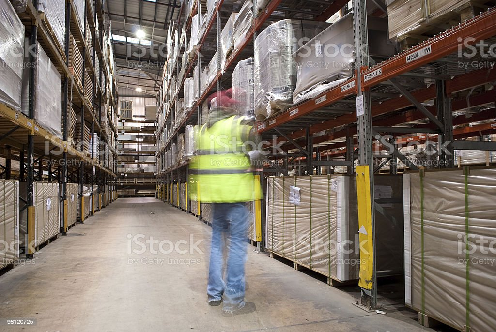 Warehouse Check royalty-free stock photo