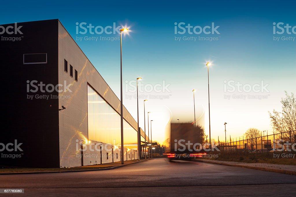 Warehouse concept stock photo