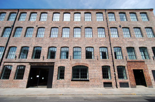 Warehouse converted to modern flat in Liverpool