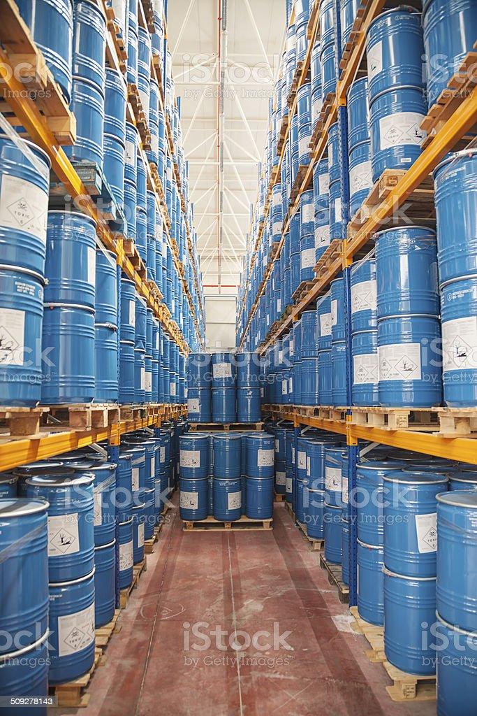 Warehouse detail royalty-free stock photo