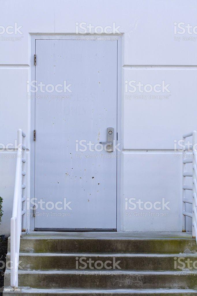 Warehouse Door royalty-free stock photo