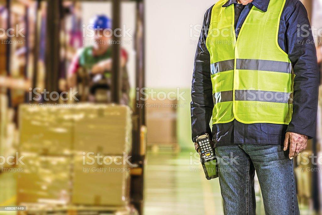 Warehouse Employees royalty-free stock photo