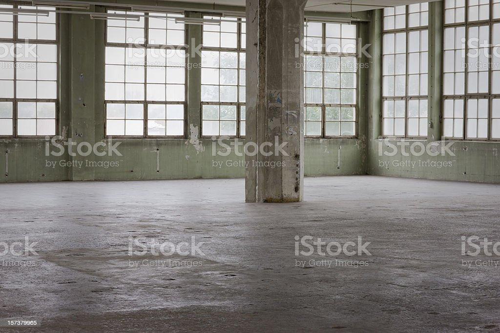 Warehouse Interior II stock photo
