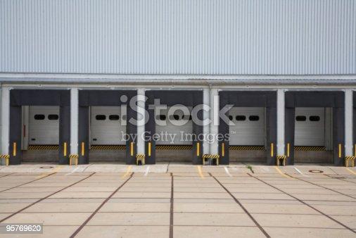 istock Warehouse Loading Bays 95769620