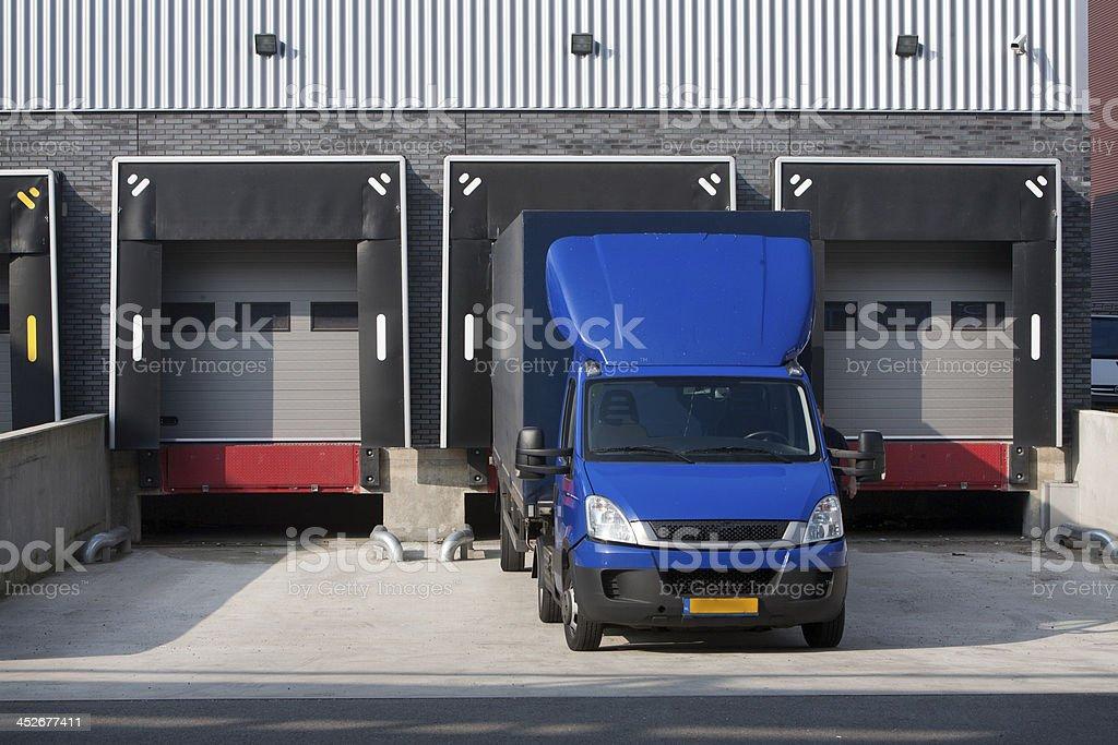 Warehouse loading dock foto