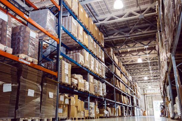 Warehouse logistics is important Warehouse logistics is important warehouse interior stock pictures, royalty-free photos & images