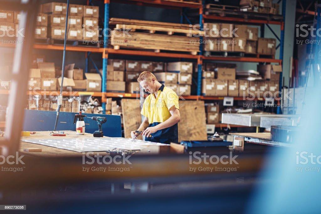 Lagerleiter, die Festsetzung der Schalttafel in Australien Lizenzfreies stock-foto