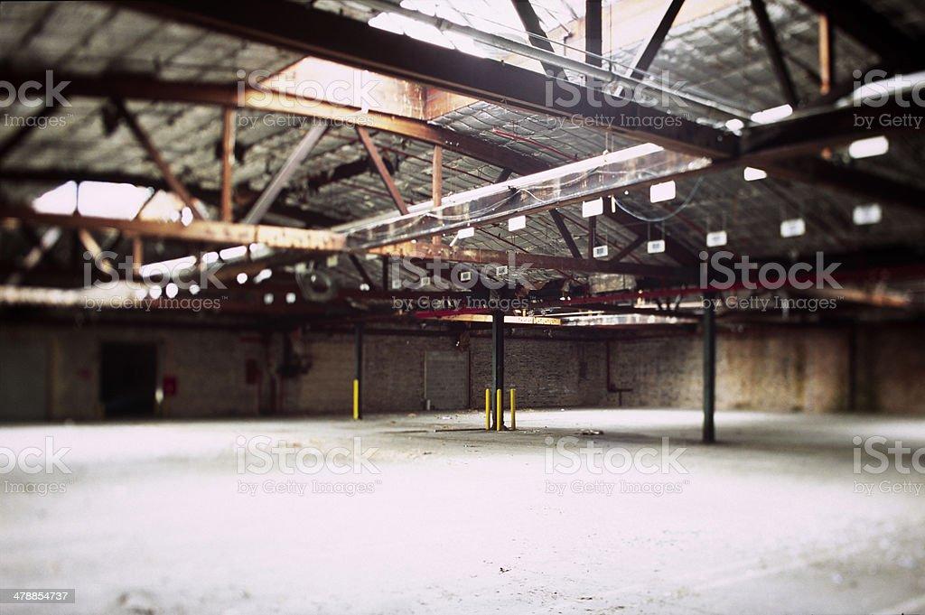 Warehouse Open to Sky - XXL stock photo