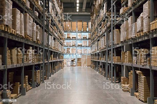 Warehouse Stock Photo - Download Image Now