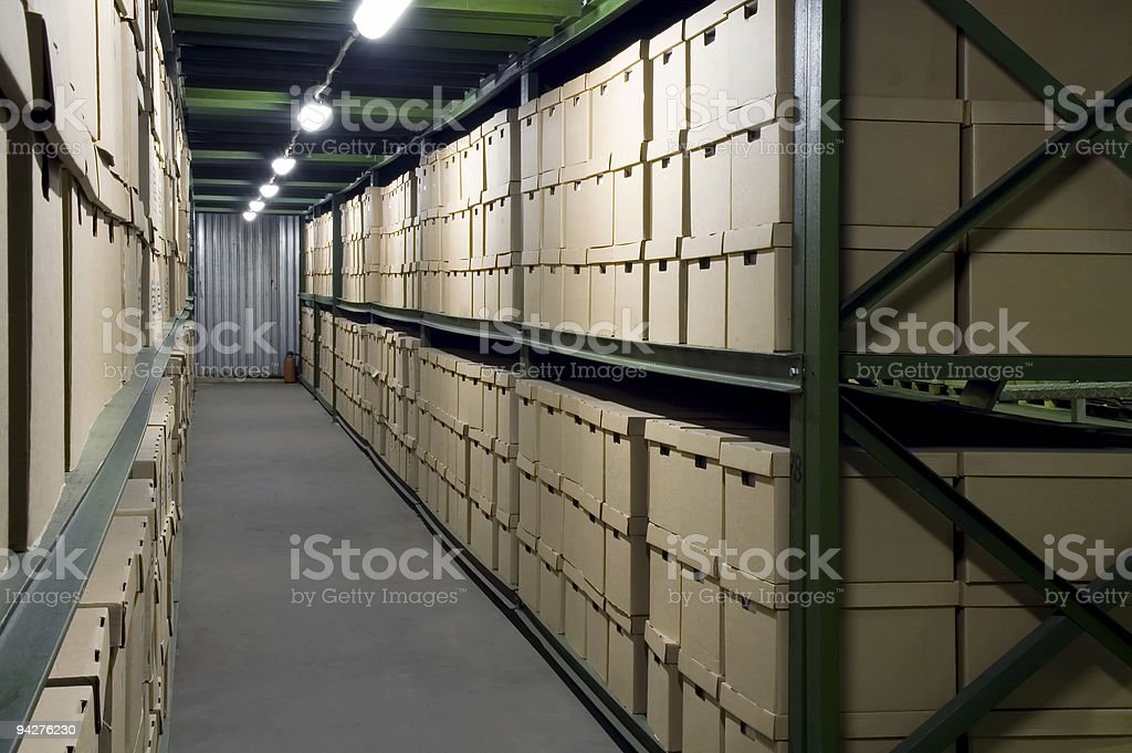 Warehouse. royalty-free stock photo