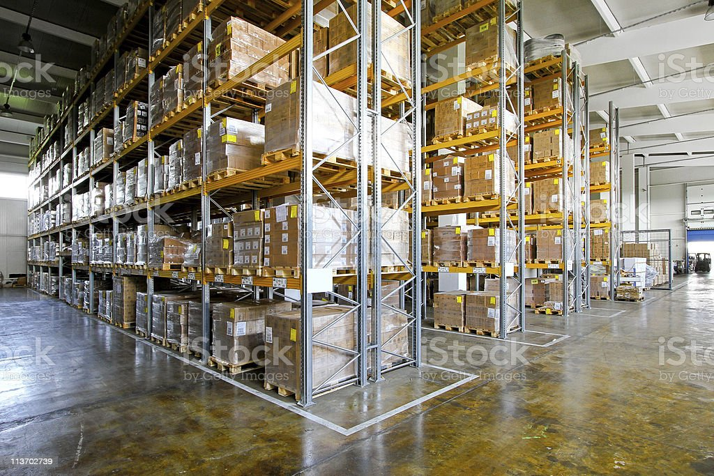 Warehouse Regale – Foto
