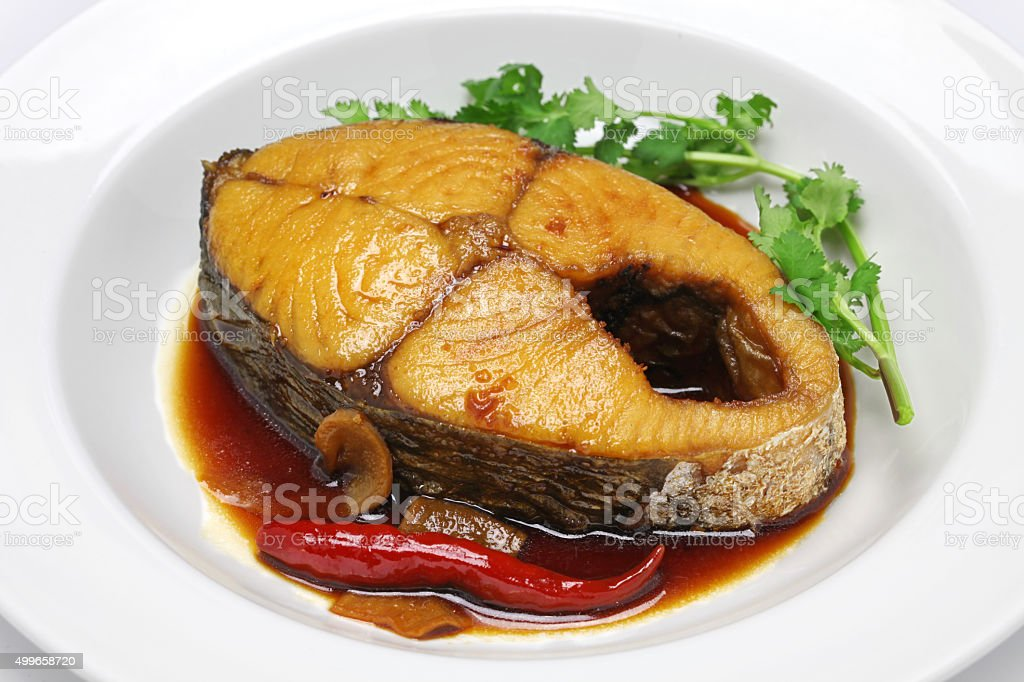 ca thu kho, vietnamese cuisine stock photo
