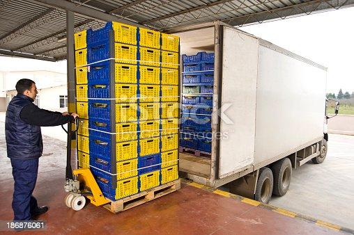 istock Warehouse Shipment 186876061