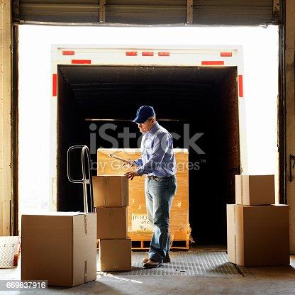 istock Warehouse Shipment 669637916