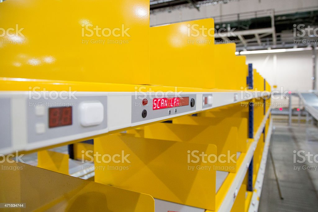 Warehouse System Series 14 stock photo